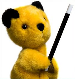 Sooty Created  by: Harry Corbett,  Species: bear,  Gender: male,  Nationality: British!