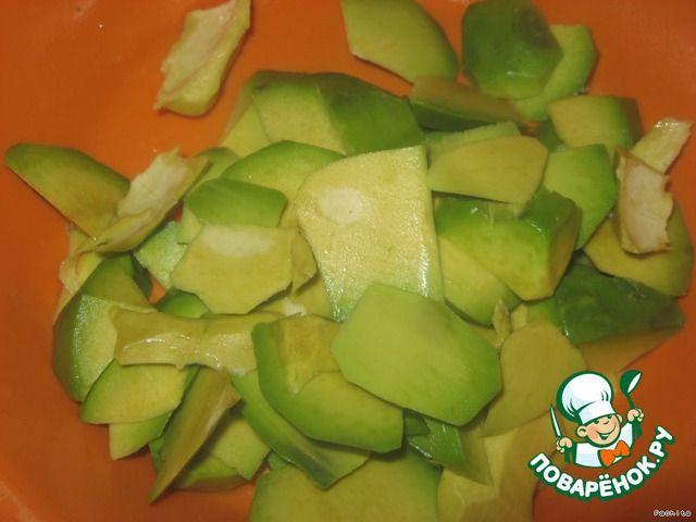 """Соус """"Авокадно-чесночный"""" ингредиенты"""