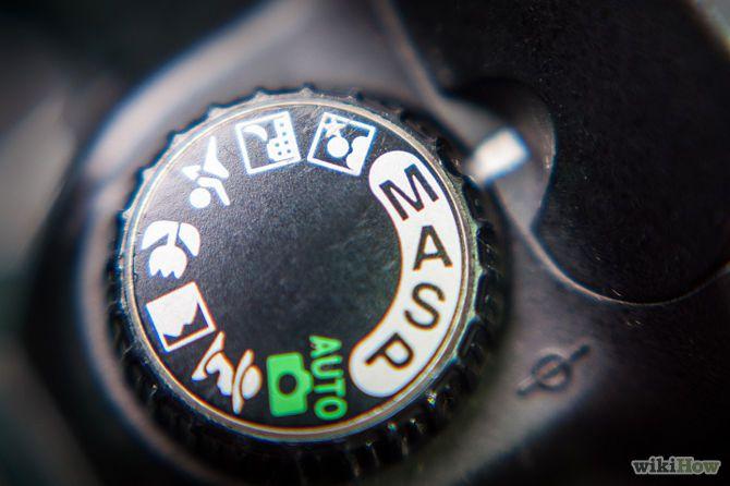 Image titled Use the Bulb Setting on the Nikon D70 Step 1