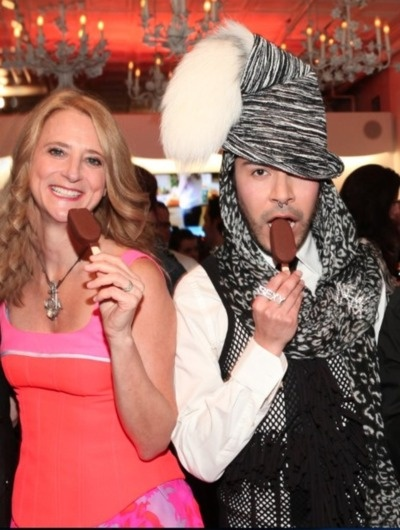 project runway all stars with nanette lepore and ice cream!!!!