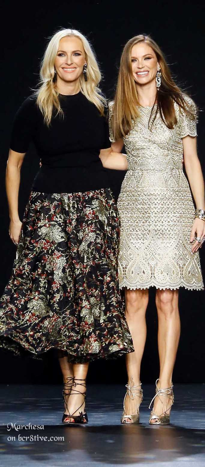 Marchesa Designers Keren Craig and Georgina Chapman