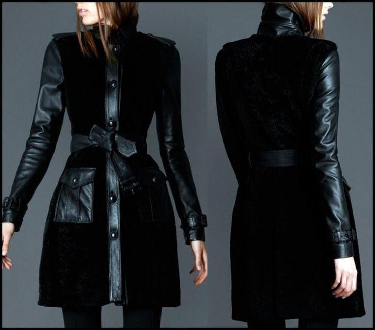 Женские кожанные пальто цены