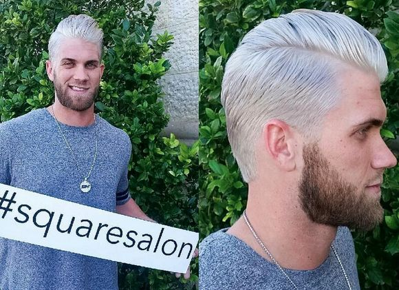 Nice Bryce Harper Haircut + Hairstyles Collection 2016 Check more at http://menshairstylesweb.com/bryce-harper-haircut-2016/
