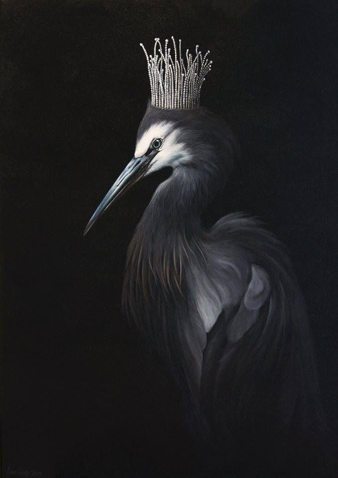 the_heron_princess by Jane Crisp