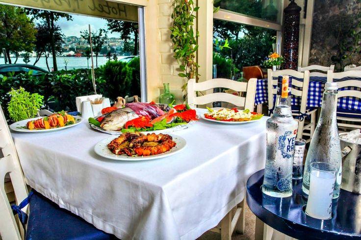 Hotel Troya Balat's Turkish/Greek cuisine: http://www.troyahotelbalat.com  #hotel #Istanbul #holiday #food #foodporn