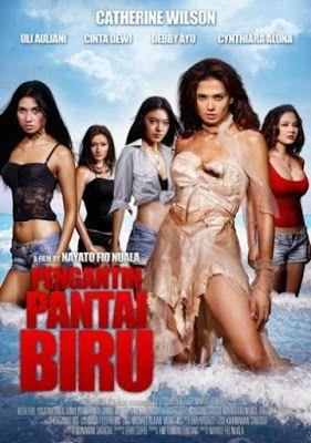 """Click """"Visit"""" button for watching Pengantin Pantai Biru (2010) streaming movie online at Layar Perak, the best streaming movie online for free and forever"""
