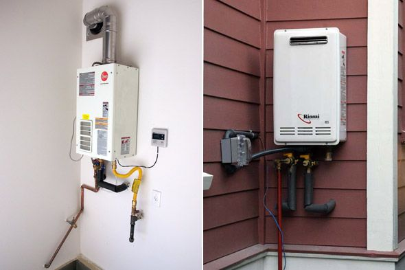 How to choose best electric water heater compare popular - Exterior hot water heater enclosure ...