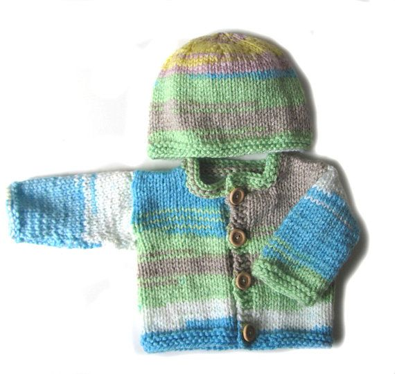 KSS New Handmade Sea and Land Baby SweaterCardigan with a