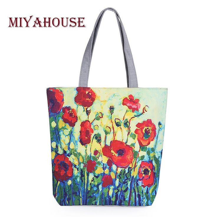 Like and Share if you want this  Women's Shoulder Bag - Miyahouse Floral Pattern Canvas Tote Bag Bags Direct Store    Buy Now at BagsDirectStore.com - FREE Shipping Worldwide    Women's Shoulder Bag - Miyahouse Floral Pattern Canvas Tote Bag Bags Direct Store