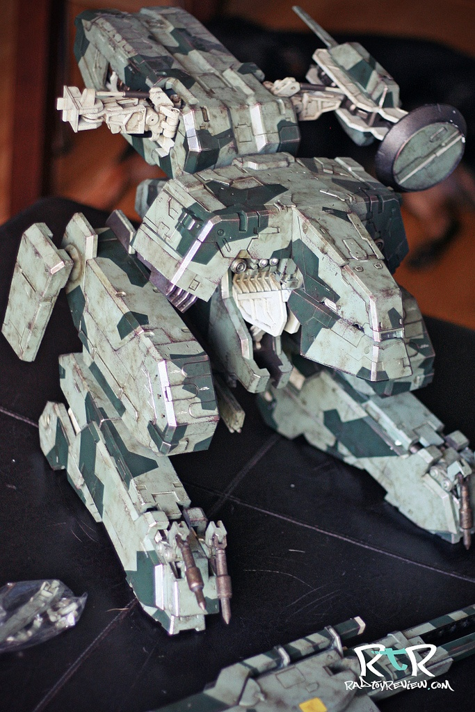 *review* 3A's Metal Gear Solid REX | Rad Toy Review