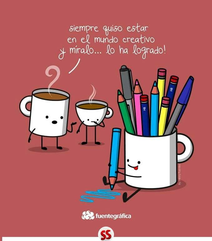 Siempre quiso ser creativo - Happy drawings :) You can be anything you want to be!