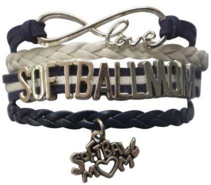 Softball Mom Bracelet- Softball Jewelry For Moms - Perfect Gift for Soft Moms …