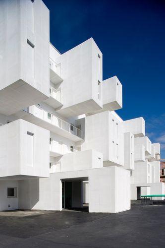 Carabanchel, Madrid, Spain  Social housing in Carabanchel dosmasuno arquitectos