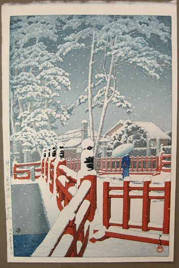 Japanese Art by the artist Kawase Hasui | Scriptum Inc