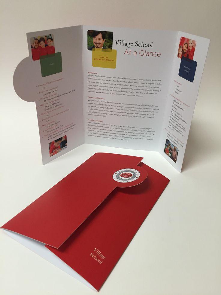 Village School, FAQ Brochure; Zorn Design Studio, Carol