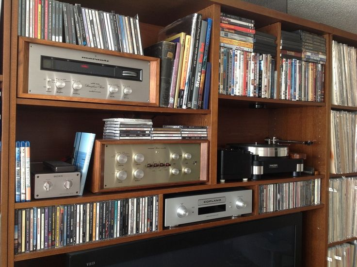 System with the 20B and Copeland CD player