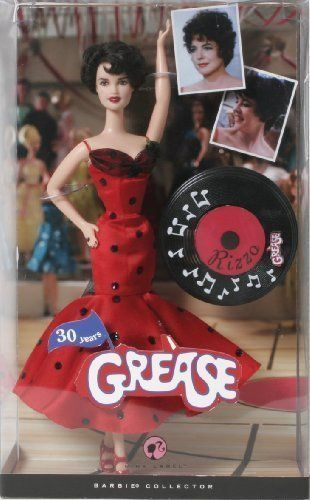 Barbie Pink Label Collection Grease Barbie Doll - Rizzo.