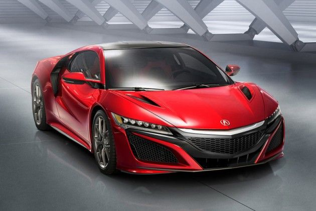 2016-acura-nsx-2 I red I car I sportive