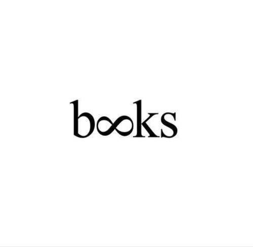 Books infinity sign