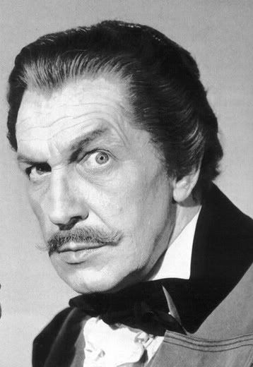 ... Horror Hotel Cinema : Vincent Price's Dracula- The Great Undead (1985