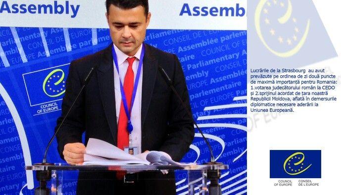 Demersul intreprins de Romania a facilitat Republicii Moldovarecunoasterea de catre APCE a eforturilor facute pe drumul aderarii la UE, semnal pozitiv puternic, necesar tarii-sora in perspectiva intalnirii de la Vilnius.