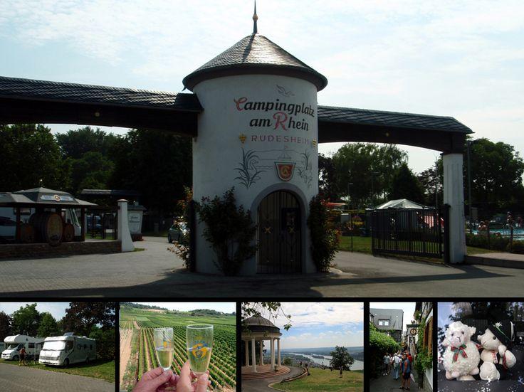 Campingplatz am Rein, Rudesheim. Rhine Valley, Norway