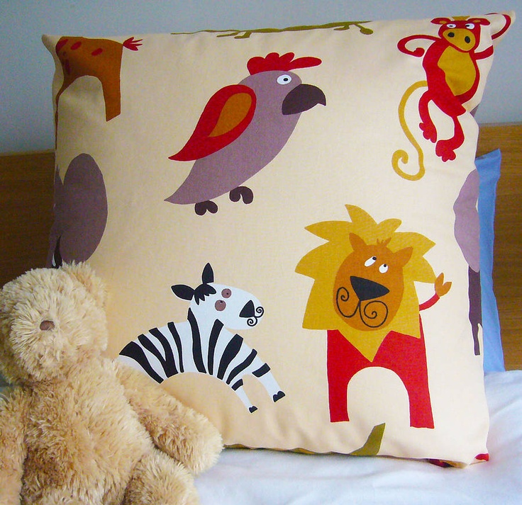 jungle floor cushion