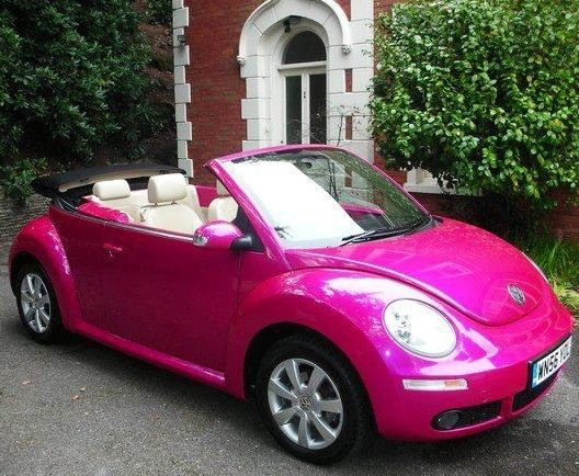 Vw Bug Cars >> VW pink bug via www.Facebook.com/Fairyland.Noor | For The Love Of Pink! | Pinterest | Vw and Cars