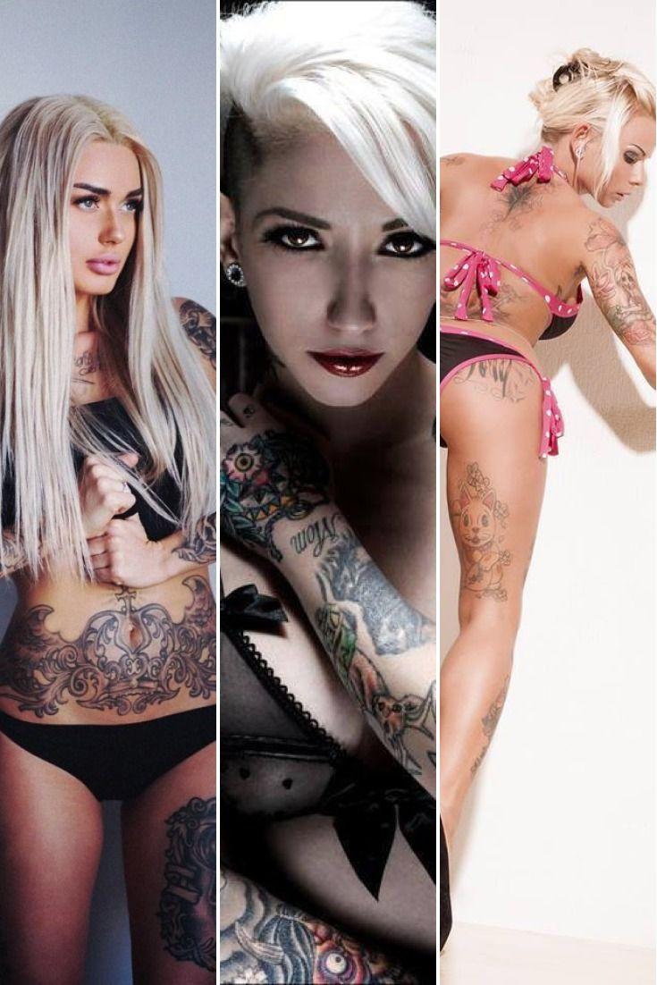 31 Hot Blonde Tattoo Girls