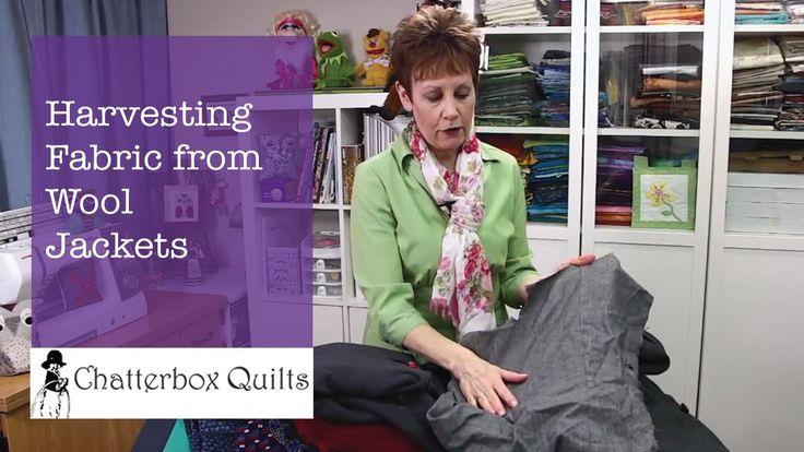 Harvesting Fabric from Wool Jackets