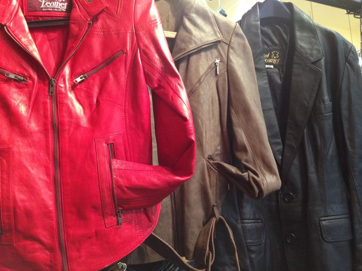 Great quality leather jackets and accessories.
