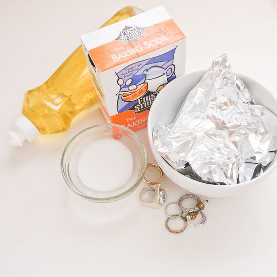 limpiar joyas plata