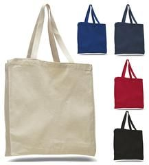 Heavy Canvas Wholesale Tote bags With Full Gusset