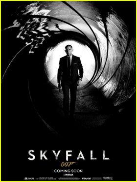 Daniel Craig: 'Skyfall' Teaser Poster!: Movie Posters, Teasers Posters, 007 Movie, Tv Posters, Picture-Black Posters, Craig Movies