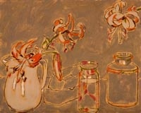 Tiger Lilies by David Milne