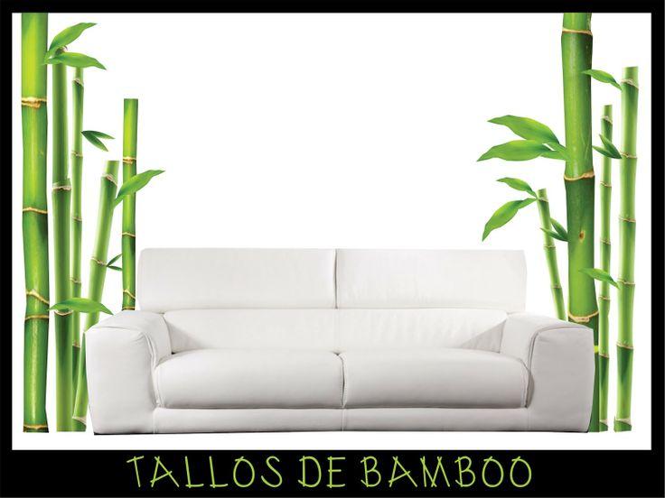 FOTOMURAL. TALLOS BAMBOO