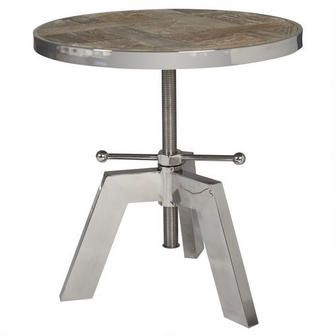 Silverwood Side Table- a must in my newly renovated living room