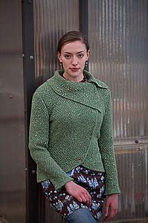 Barcelona Jacket pattern by Katya Wilsher