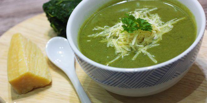 Expresná špenátová polievka - Tinkine recepty