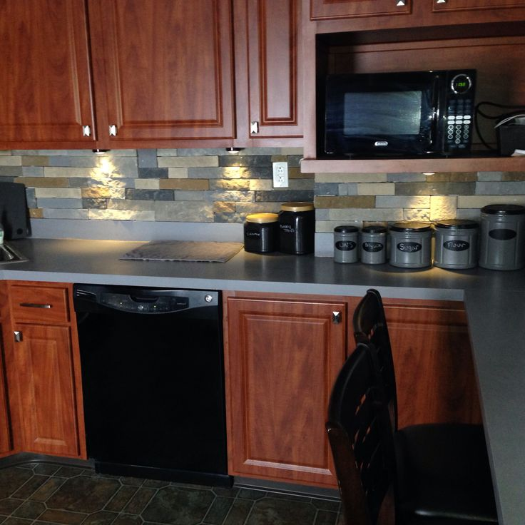Airstone Backsplash kitchen cabinet sliving room list of things