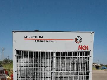 For sale is a 255 kW Spectrum Natural Gas Generator. Manufactured in 1998, has under 2,000 hours.  Manufacturer: Detroit Diesel Fuel Type: Natural Gas / LP Rating: 255 kW Hours: 1900 Voltage: 277/480 Hertz: 60 Generator Model #: Detroit Series 60 Year: 1998  Buyers inspections are welcome on site. All generators are being sold in As Is Where Is condition.   We have over 90 generators in stock and more coming in daily. For more information please visit WOODSTOCKPOWER.COM   * We Buy and Sell…