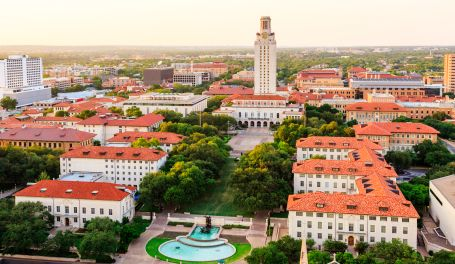 It doesn't get much more beautiful than this. #UT campus. #40Acres #HookEm