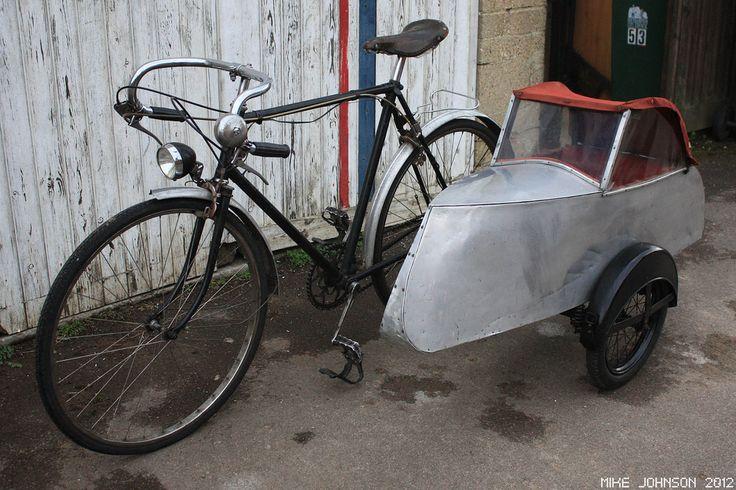 1930s Watsonian side car bike