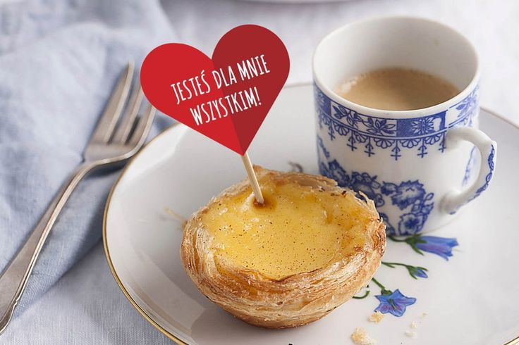 Pastel de nata #ciasteczka #delektujemy #cynamon #tartlets #przepis #pasteldenata