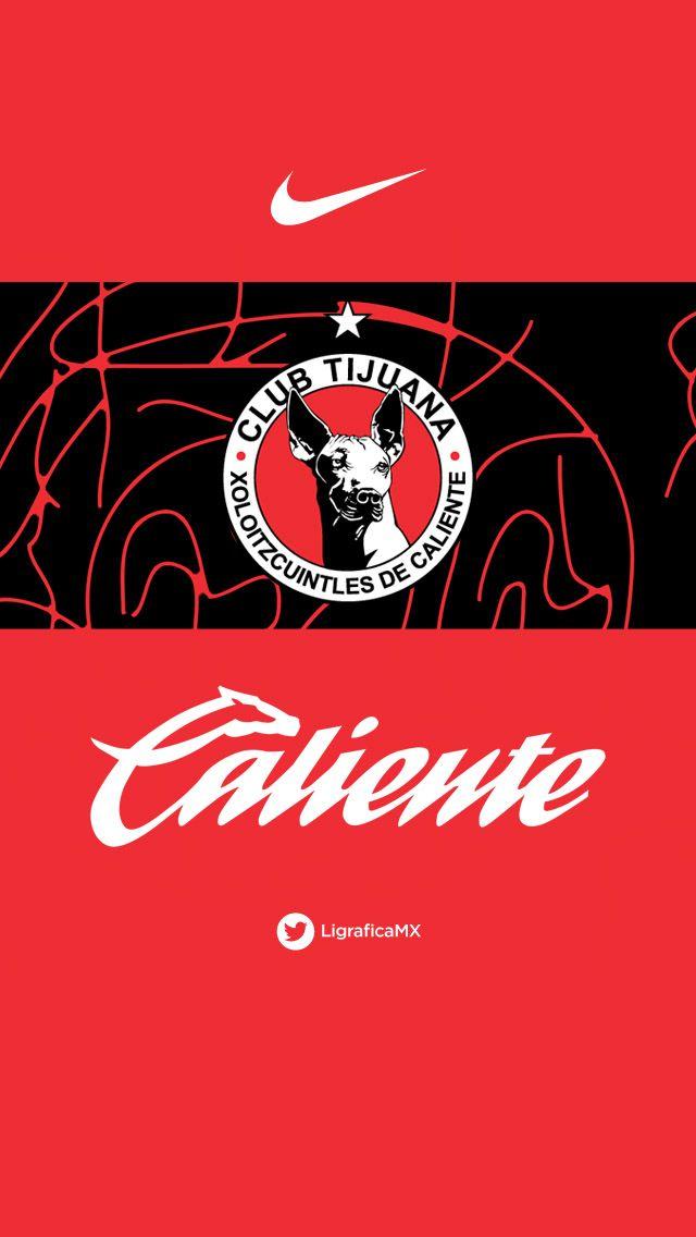 @Club Tijuana #Nike • Fondo iPhone5 • LigraficaMX 170314CTG