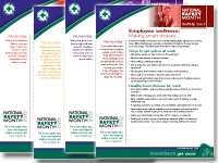 Employee wellness fact sheet from the National Safety Council.  Great tips for wellness at work!