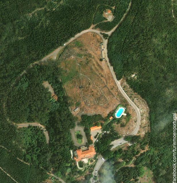 Citania de Santa Luzia (Celtic Hillfort), Viana do Castelo, Portugal.