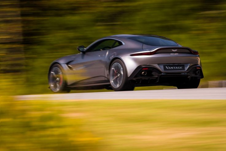 The 2019 Aston Martin Vantage Doesn't Settle For Anything