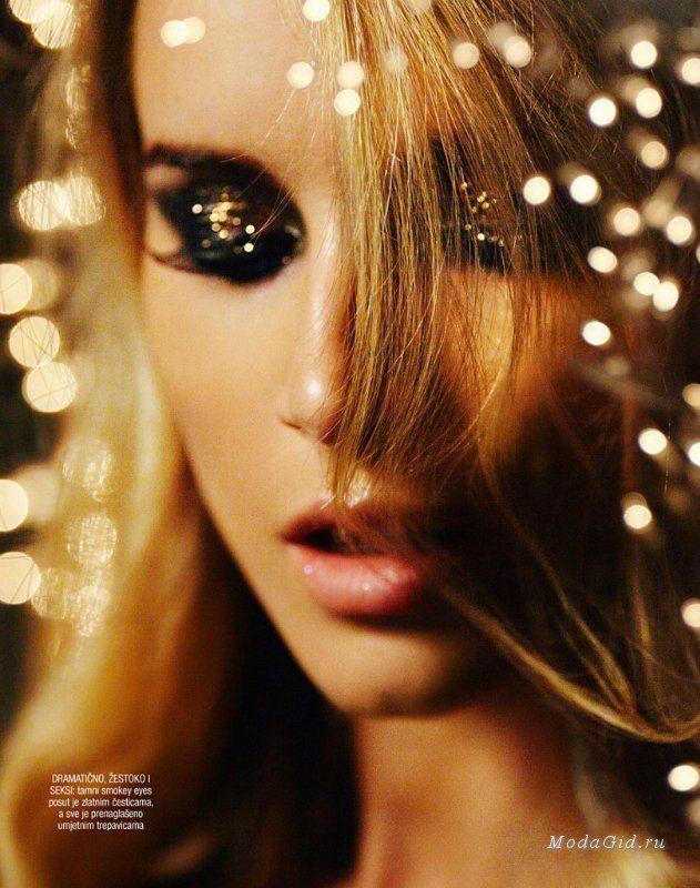 Макияж: Новогодний макияж 2015 (фото и видео)