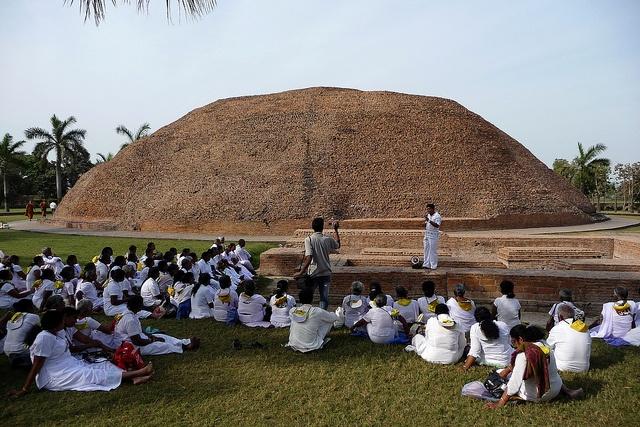 Ramabhar Stupa - Kushinagar, India  Kushinagar, where the Buddha died and…